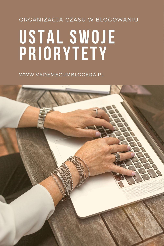 Organizacja Czasu W Blogowaniu Ustalam priorytety. Co jest moim priorytetem na najbliższy dzień, tydzień i 3 -miesiące? Jaki cel chcę osiągnąć w najbliższej przyszłości?