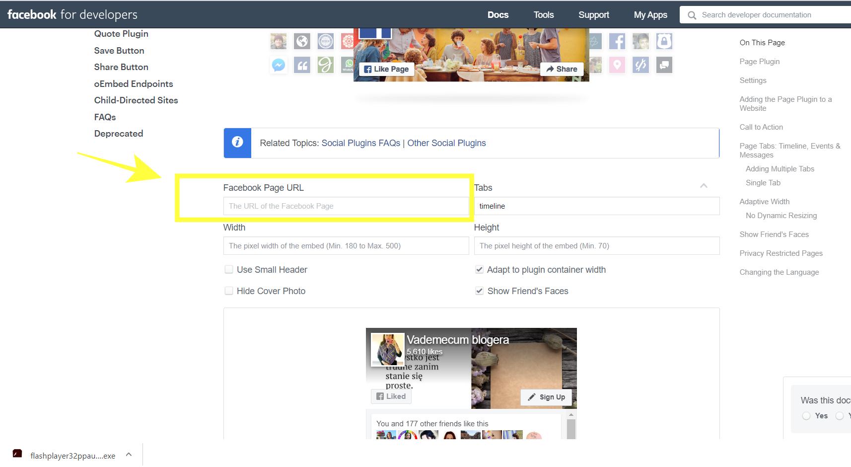 Jak dodać okienko facebooka (likeboxa) na wordpressa?