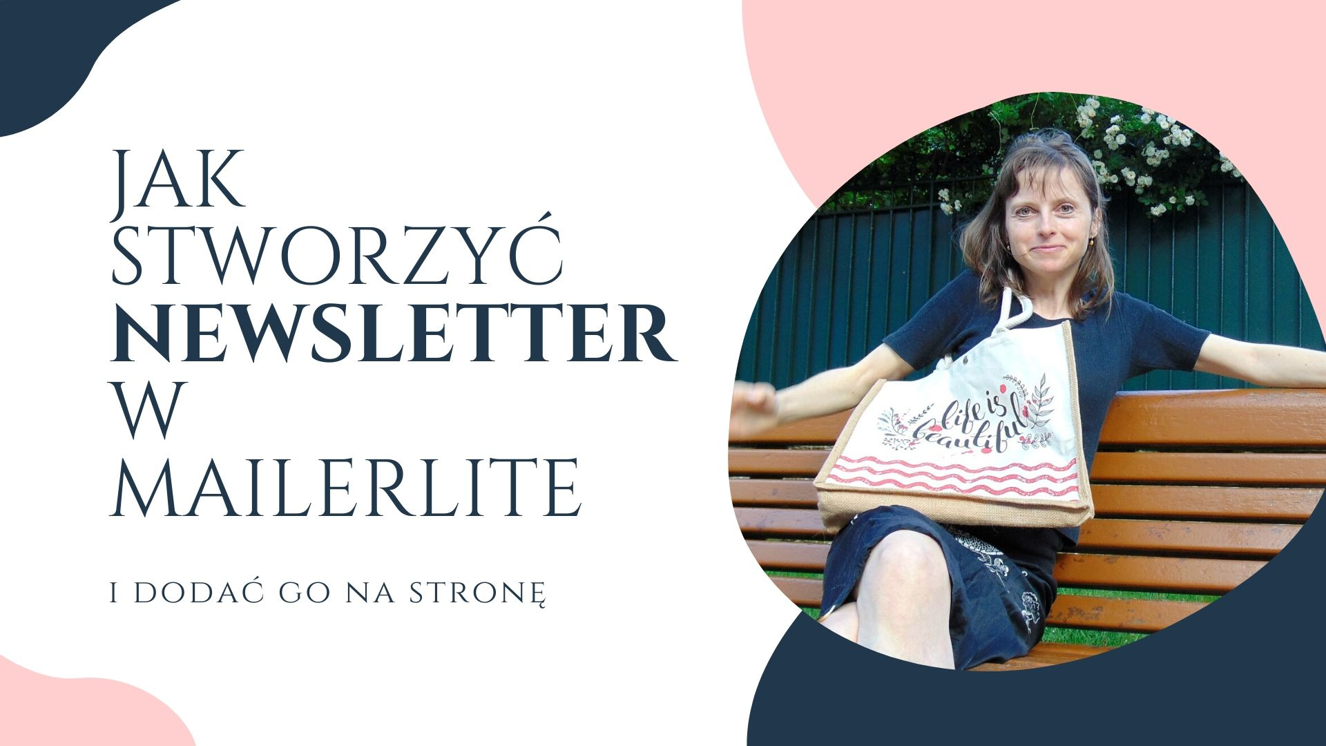 Jak Stworzyć Newsletter W Mailerlite Odc2? Jak stworzyć i osadzić na stronie formularz zapisu na newsletter przy użyciu Mailer Lite.