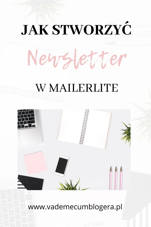 Jak stworzyć newsletter w Mailerlite odc1? Jak stworzyć Landing Page do zapisu na newsletter przy użyciu Mailer Lite.