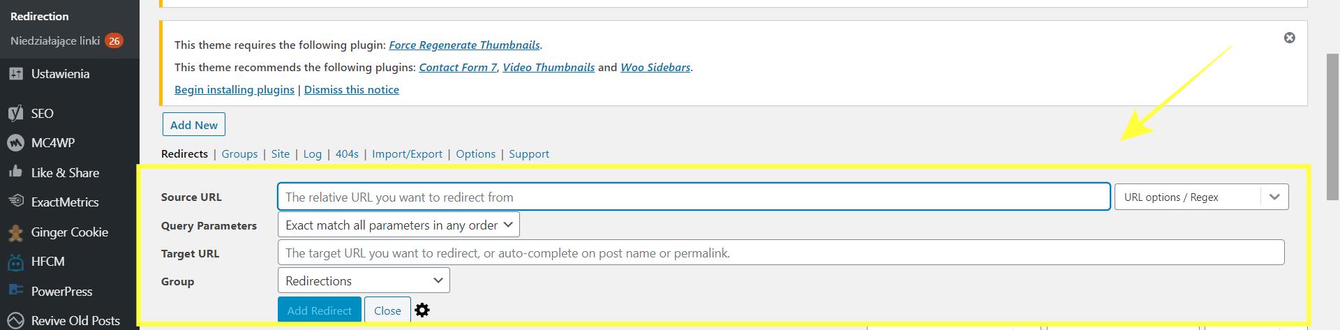 Przekierowanie. Jak zmienić adres bloga i nie stracić ruchu.