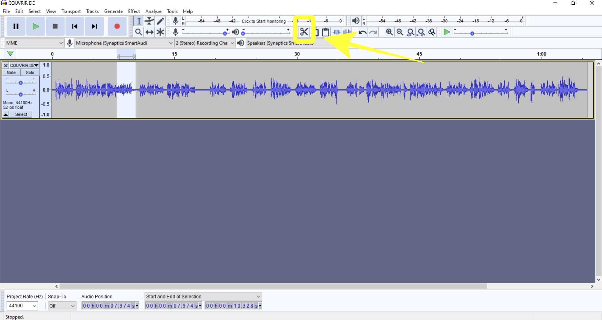 jak edytowac podcast nagranie audio w Audacity - tutorial