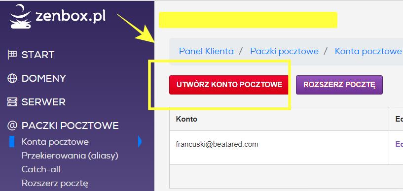 Jak założyć skrzynkę pocztową z własną domeną?