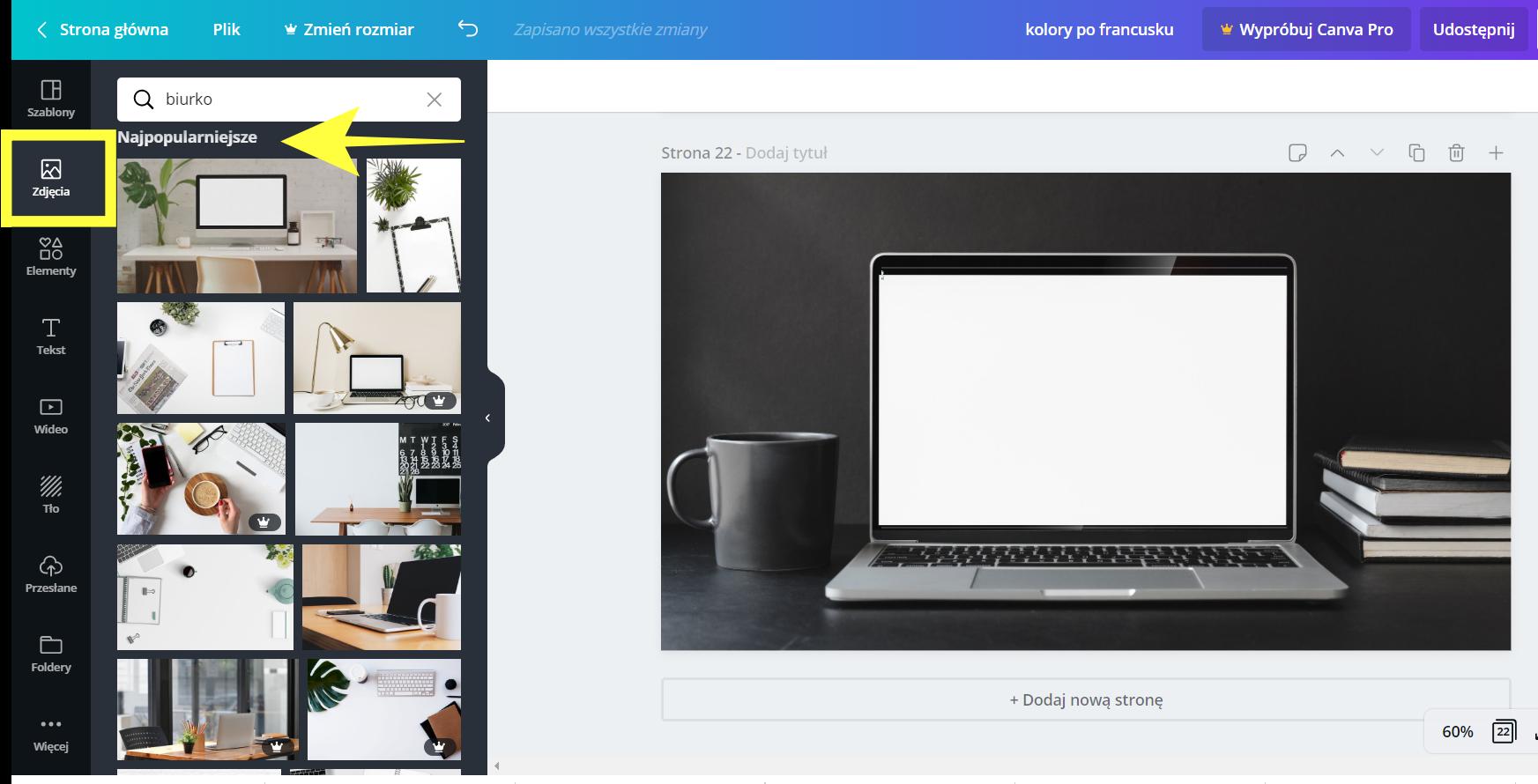Jak zrobić mockup w Canvie? Jak jak ładnie zaprezentować grafikę sprzedażową swojego ebooka czy kursu?