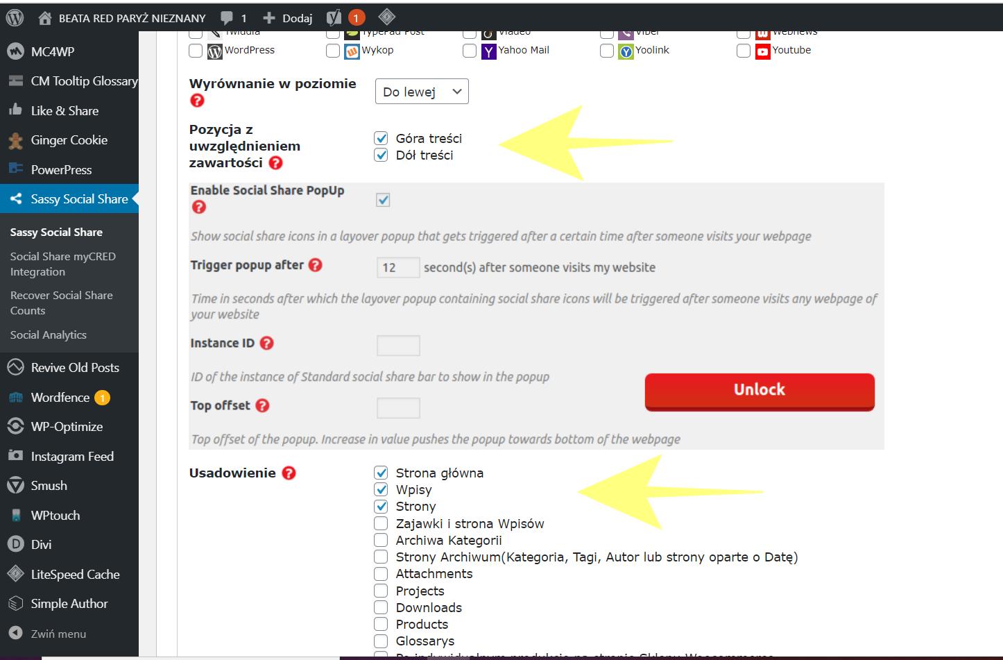WordPress – Jak dodać przyciski mediów społecznościowych