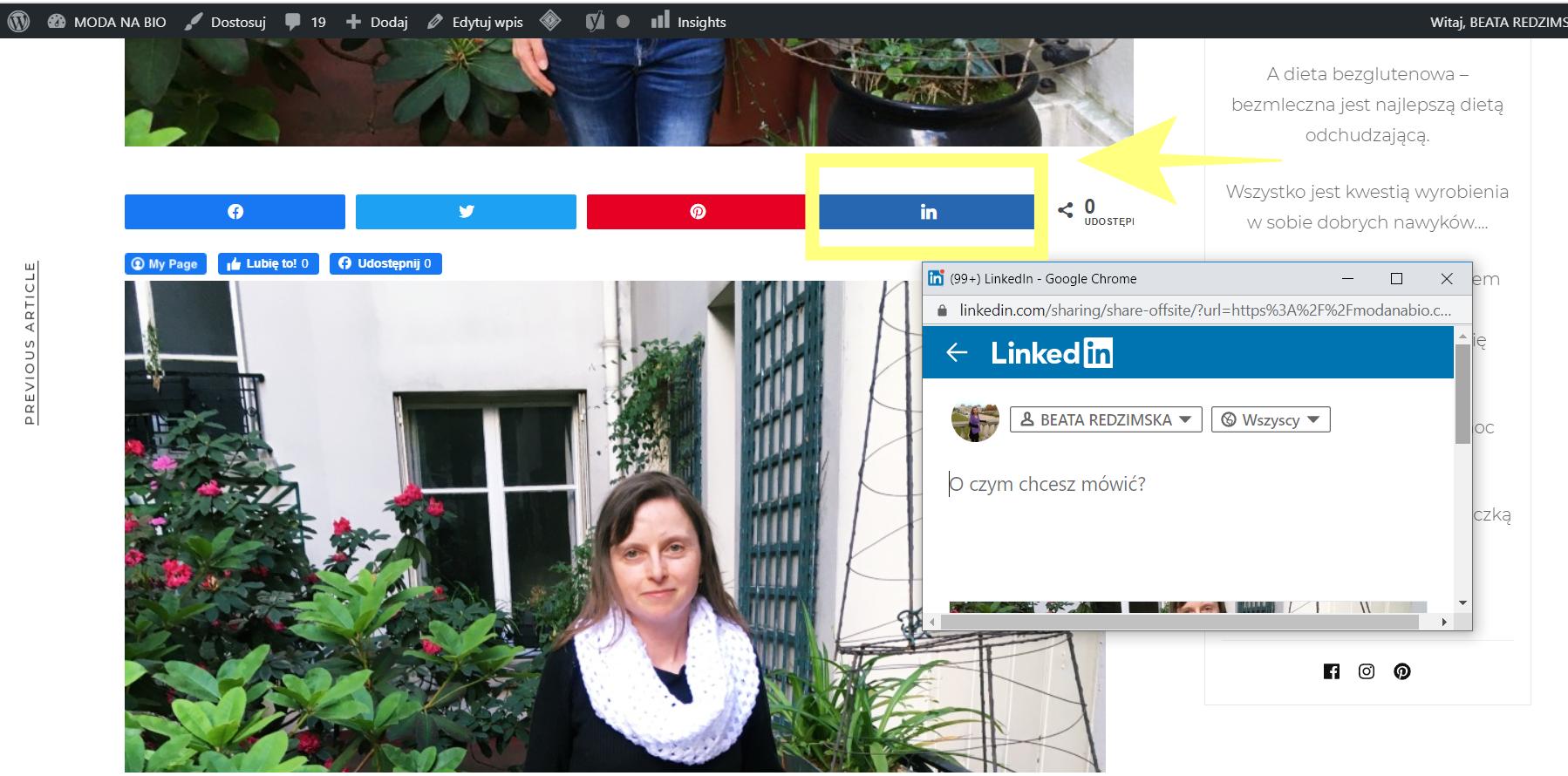 WordPress – Jak Dodać Przyciski Mediów Społecznościowych - WTYCZKA SOCIAL WARFARE