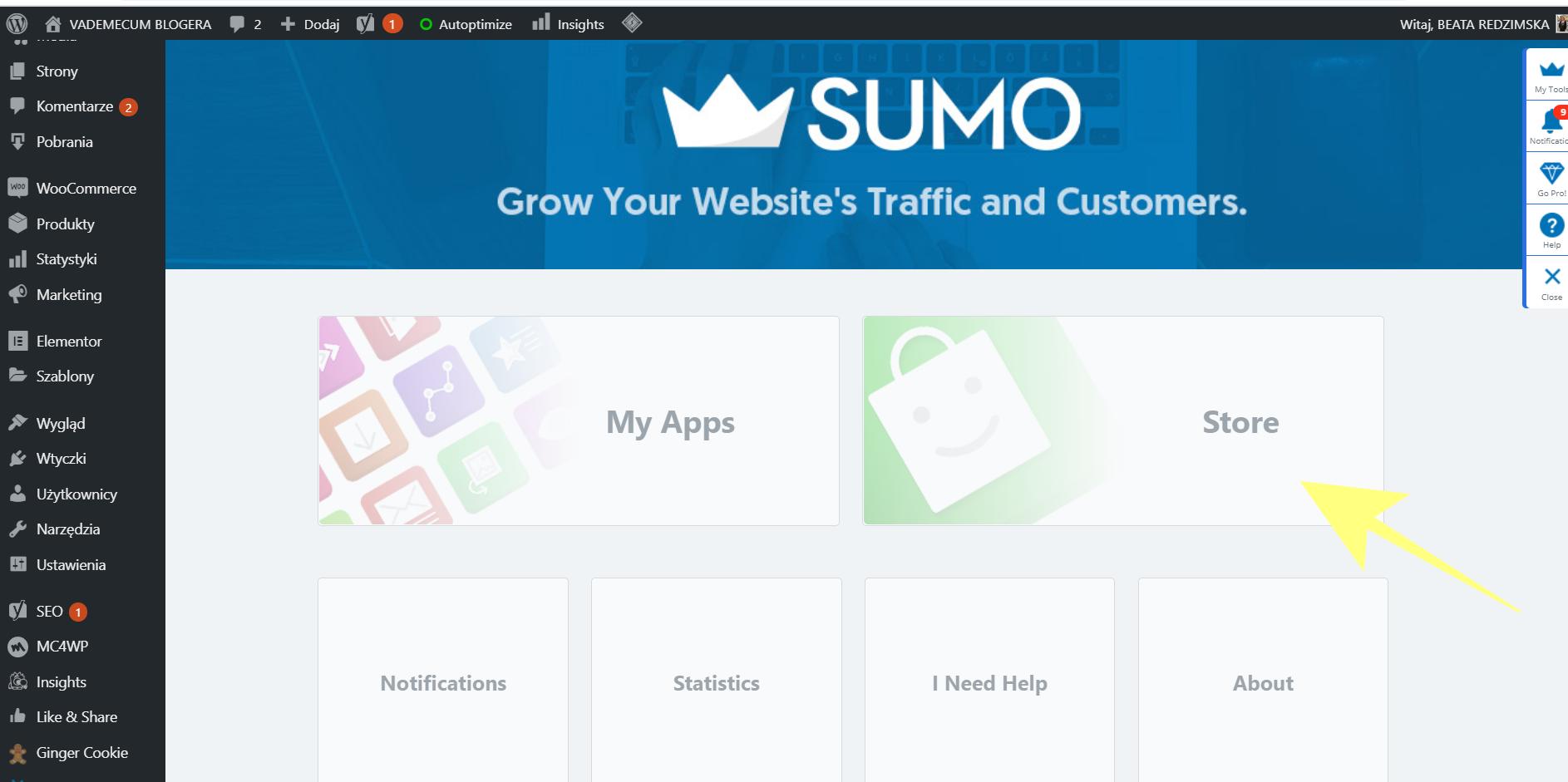 Jak dodać przyciski mediów społecznościowych za pomocą wtyczki SUMO?