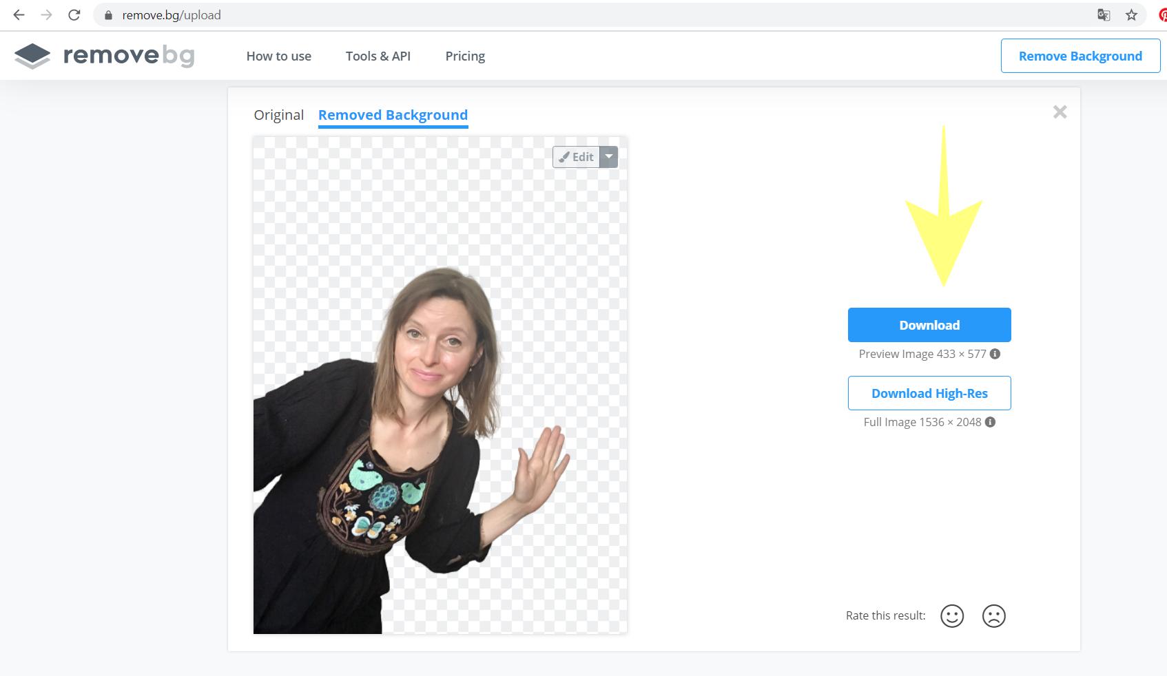 Jak szybko usunąć tło ze zdjęcia (za darmo)? Jak prosto stworzyć grafiki sprzedażowe z własną podobizną?