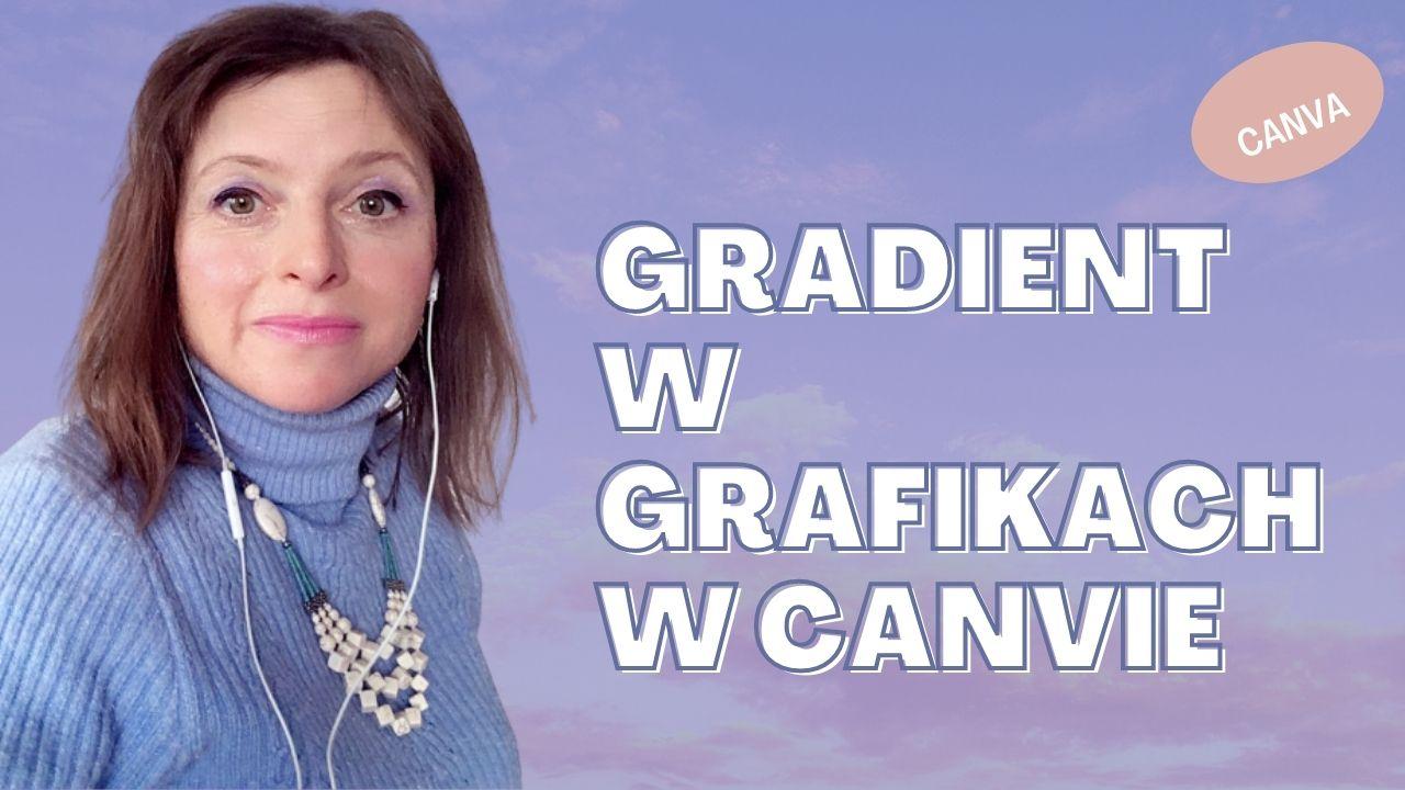 GRAFIKI W CANVIE GRADIENT