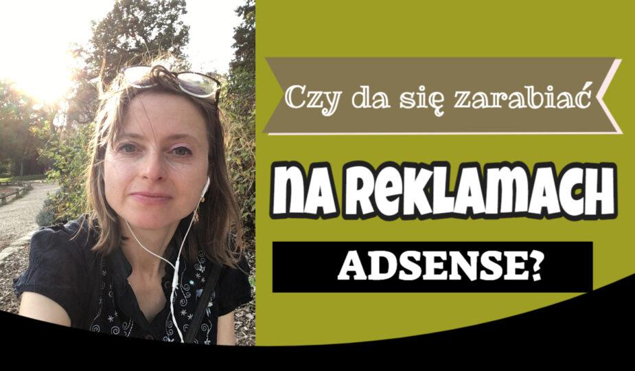 zarabianie na reklamach Adsense