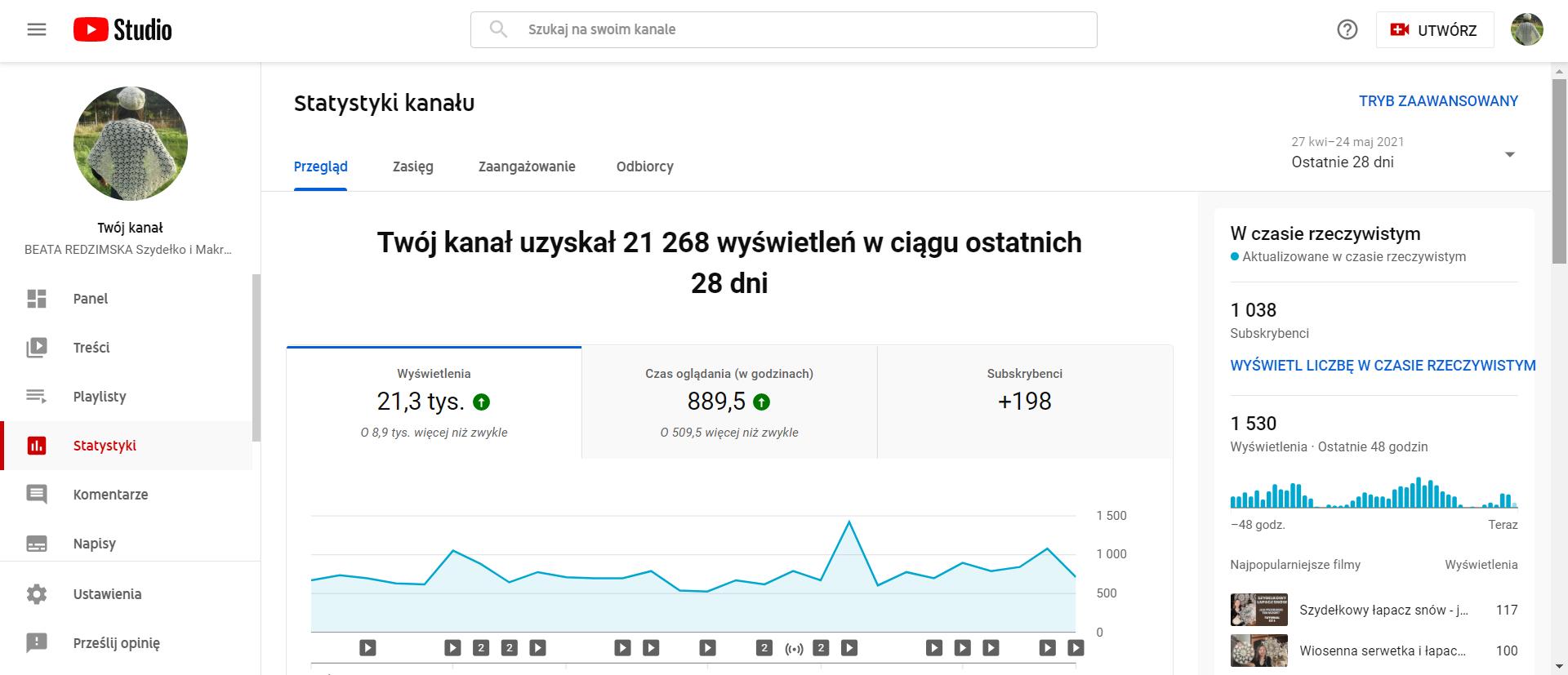 Jak zdobyłam 1000 subskrypcji w YouTube